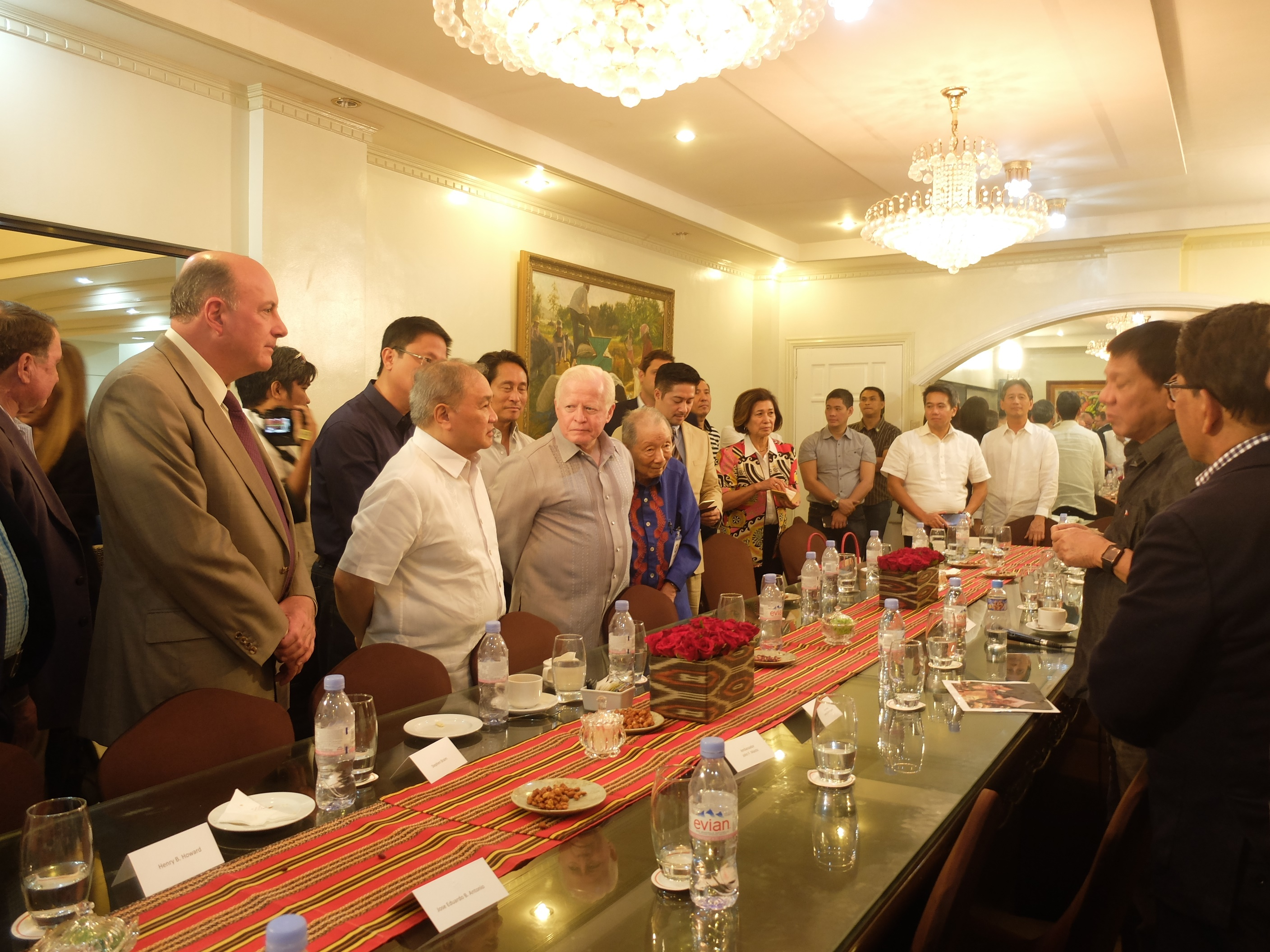 US-Philippines Society Board of Directors President Rodrigo R. Duterte, Malacanan of the South, Davao City